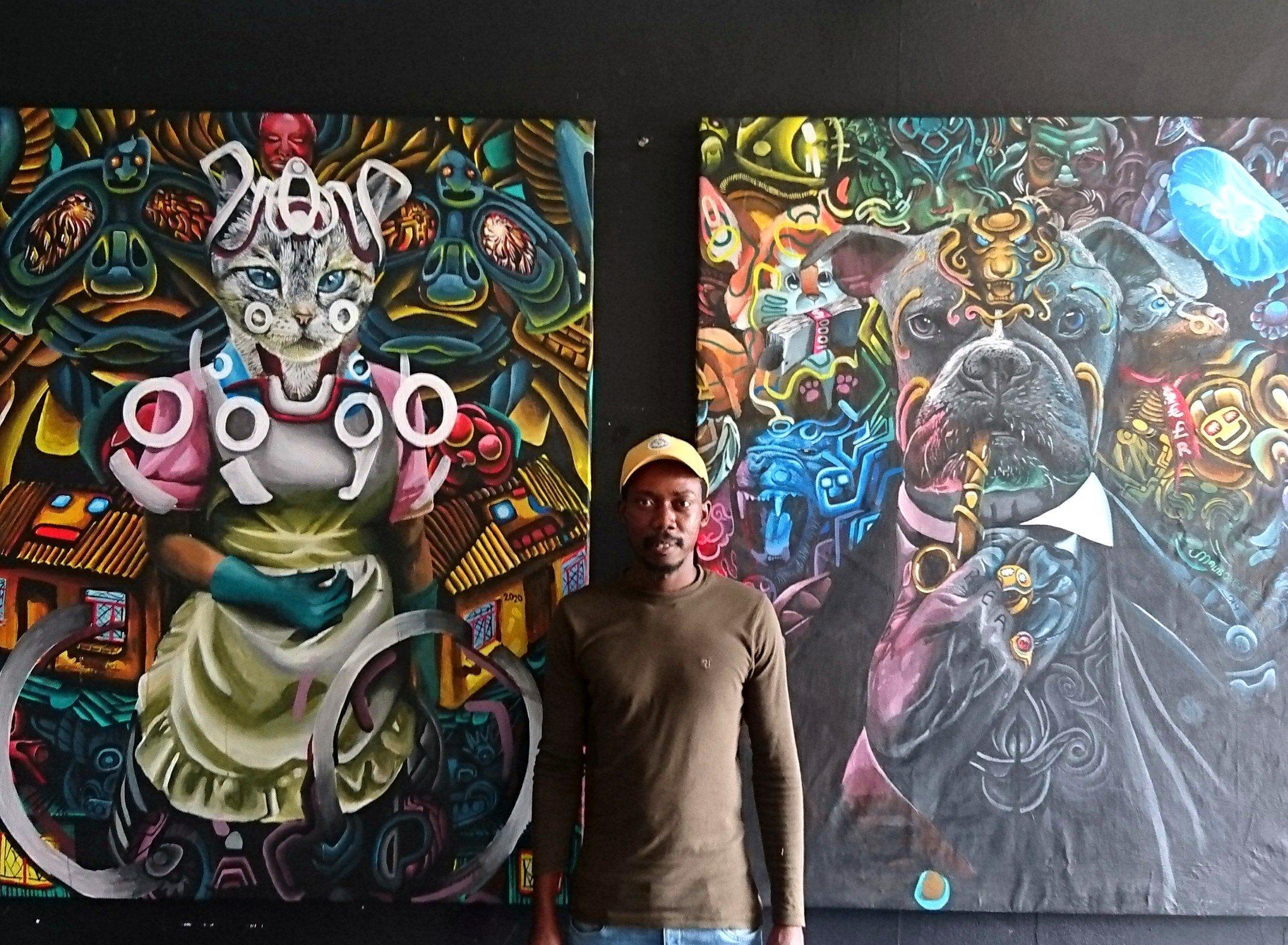 Malibongwe Phakane LAE LAEHQ Living Artists Emporium