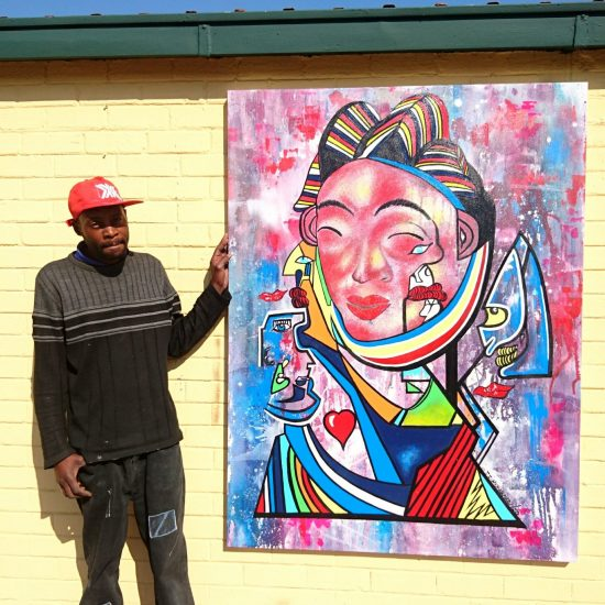 Isaac Mkhwanazi LAE LAEHQ Living Artists Emporium
